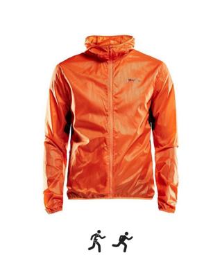 Pánska bunda CRAFT Breakaway Light M - orange