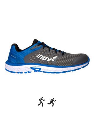 Pánska obuv INOV-8 ROADCLAW™ 275 KNIT - grey/blue