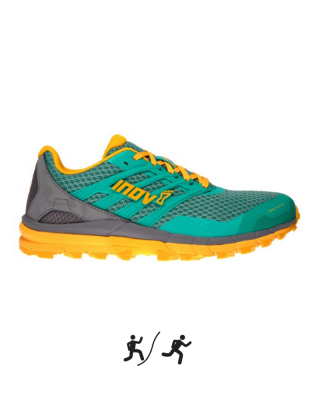 Dámska obuv INOV-8 TRAILTALON™ 290 W - green/grey/yellow