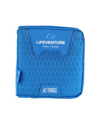 Uterák LIFESYSTEMS SoftFibre Advance Trek Towel - Pocket (Blue)
