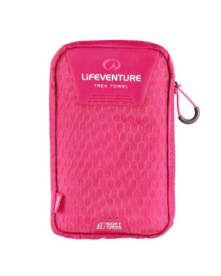 Uterák LIFESYSTEMS SoftFibre Advance Trek Towel - Large (Pink)