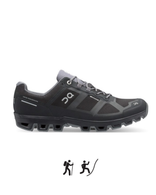 Pánska obuv ON RUNNING Cloudventure M Waterproof Black/Graphit