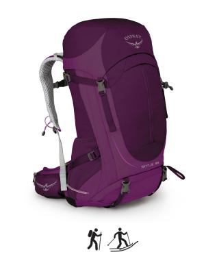 Batoh OSPREY SIRRUS 36 II r. purple WS/WM