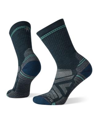 Ponožky SMARTWOOL W Performance HIKE light CUSHION CREW - modrá
