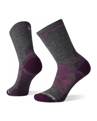 Ponožky SMARTWOOL W Performance HIKE light CUSHION CREW - fialová