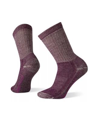 Ponožky SMARTWOOL W Classic HIKE FULL CUSHION CREW - bordová