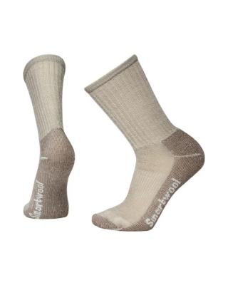 Ponožky SMARTWOOL HIKE LIGHT CREW - taupe
