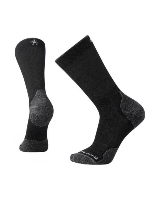Ponožky SMARTWOOL PHD OUTDOOR LIGHT CREW - charcoal