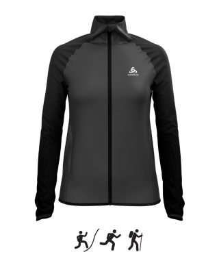 Dámska bunda ODLO Jacket ZEROWEIGHT WARM HYBRID W