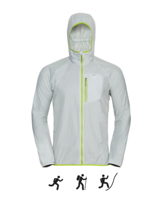 Pánska bunda ODLO Jacket FLI WINDPROOF DWR