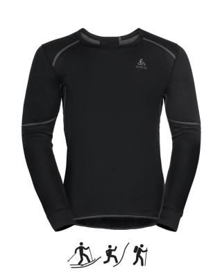 Pánske tričko ODLO BL TOP Crew neck l/s ACTIVE X-WARM ECO