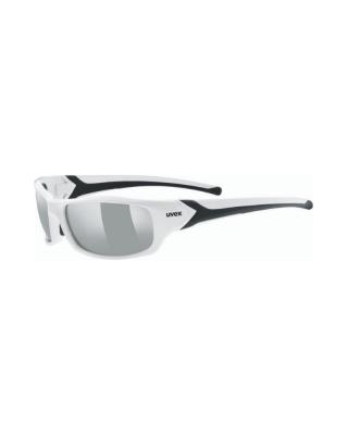 Slnečné okuliare UVEX sportstyle 211 white black/silver