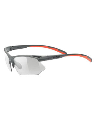 Slnečné okuliare UVEX  sportstyle 802 V grey mat S1-3
