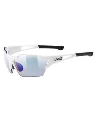 Slnečné okuliare UVEX  sportstyle 803 race V small white/blue S1-3