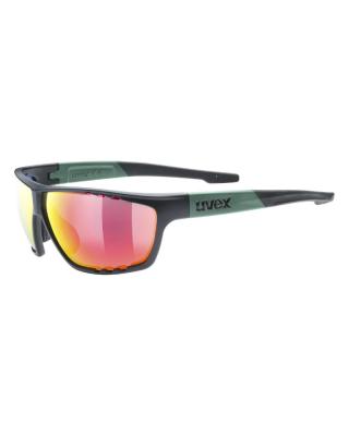 Slnečné okuliare UVEX sportstyle 706 black moss mat s3