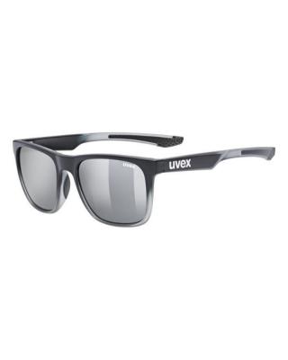 Slnečné okuliare UVEX  lgl 42 black transparent/silver s3